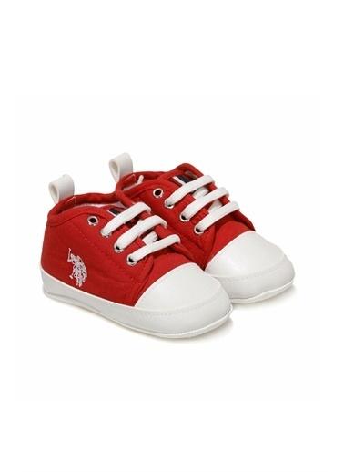 U.S. Polo Assn. Bebek Ayakkabı Micky 100911036 Kırmızı